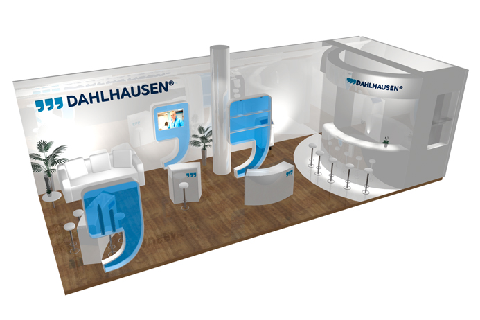 Rendering Messestand Medica